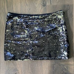 Forever 21 sequin skirt